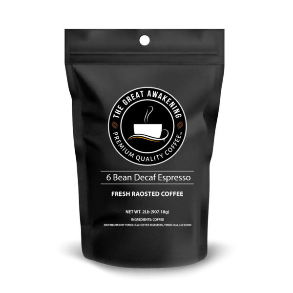 Lincoln Blend (Decaf) (2-5lb Ground)
